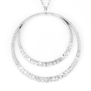 paparazzi Jewelry - Front and EPICENTER - White